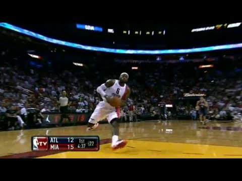 LeBron James Top 10 Dunks 2011/2012 HD Pt. 2 (YMCMB Mix)