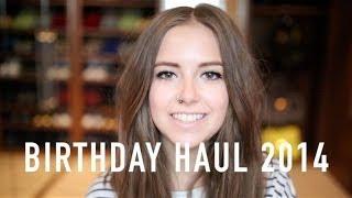 getlinkyoutube.com-Birthday Haul 2014 | sunbeamsjess