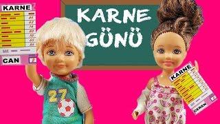 getlinkyoutube.com-Barbie ve Ailesi 93.Bölüm - Karne Günü   Çizgi Film tadında   Barbie Türkçe izle   EvcilikTV