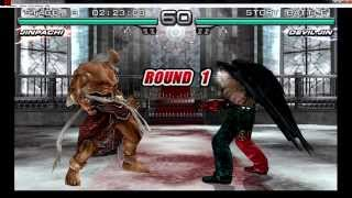 getlinkyoutube.com-Tekken 5 Dark Resurrection - Jinpachi Human Story Mode - PPSSPP PSP Emulator