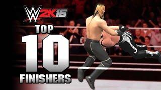getlinkyoutube.com-WWE 2K16 Top 10 Finishers