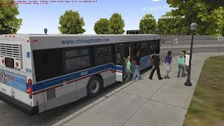 getlinkyoutube.com-OMSI 2 The Bus Simulator - Chicago Downtown First Look HD