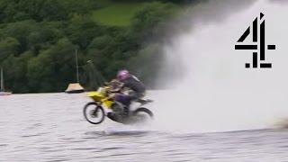 getlinkyoutube.com-Hydroplaning Bike | Speed with Guy Martin