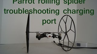getlinkyoutube.com-Parrot rolling spider TROUBLESHOOTING CHARGING PORT