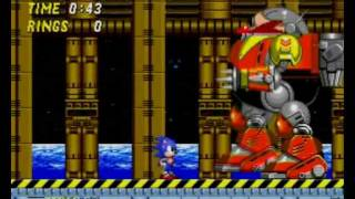 All sonic end boss fights from sega megadrive and mega  cd