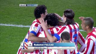 Falcao's goals 2012/2013- Atletico Madrid/Colombia
