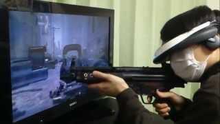 【NT京都】銃型FPSコントローラーを作ってみた【COD MW3】