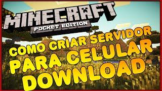 getlinkyoutube.com-Como criar um servidor para Minecraft Pocket Edition 1.0.4 - PokeMine