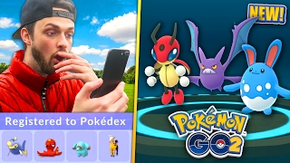 getlinkyoutube.com-Pokemon GO - EPIC *GEN 2* EVOLUTIONS, EGGS + SPAWNS! (NEW POKEMON)