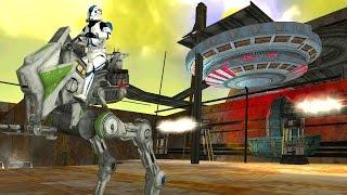 getlinkyoutube.com-Star Wars Battlefront 2 Mods - Raxus Prime ( Industrial Complex )