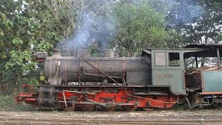 getlinkyoutube.com-(Steam Locomotive Activity) TM VI, The Biggest Locomotive of Narrow Gauge In Indonesia!