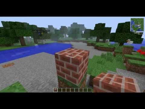 Como fazer bloco de tijolo - Minecraft