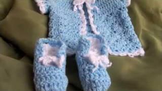 getlinkyoutube.com-Baby Crochet