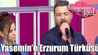 getlinkyoutube.com-Evleneceksen Gel - Yasemin'e Erzurum Türküsü