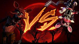 getlinkyoutube.com-FNaF 2: Foxy vs Mangle