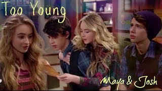 getlinkyoutube.com-Maya & Josh - Too young | Girl Meets World