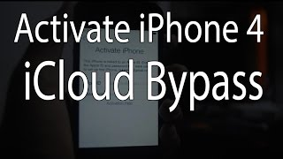 getlinkyoutube.com-Bypass iCloud activation iPhone 4 full bypass with service Fix!!!