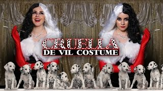 getlinkyoutube.com-DIY Easy Halloween Costume: Cruella De Vil || Lucykiins