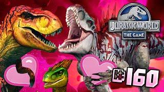 getlinkyoutube.com-Dinosaur Love!! || Jurassic World - The Game - Ep 160 HD