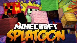 getlinkyoutube.com-Minecraft SPLATOON! #1 w/ PrestonPlayz, Lachlan, Vikkstar & PeteZahHutt