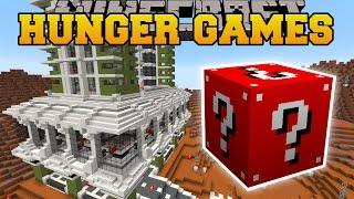 getlinkyoutube.com-Minecraft: PLANET MARS HUNGER GAMES - Lucky Block Mod - Modded Mini-Game