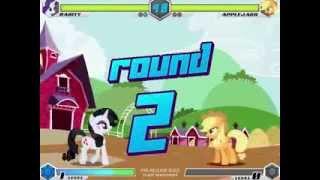 getlinkyoutube.com-MLP - Fighting is Magic - Rarity