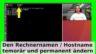 getlinkyoutube.com-Hostname - Rechnername unter Ubuntu Linux permanent und temporär ändern - WLBI