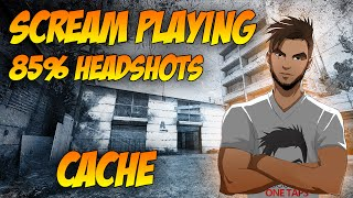 getlinkyoutube.com-CS GO | ScreaM After update - 85% Headshots (04.08.2016)