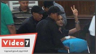 getlinkyoutube.com-بالفيديو.. وقف محاكمة أحمد دومة بعد حضوره على كرسى متحرك