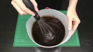 getlinkyoutube.com-Make Chocolate Ganache Frosting EASY Recipe and Instructions - A Cupcake Addiction How To Tutorial