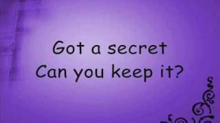 getlinkyoutube.com-Secret Lyrics By The Pierces