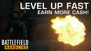 getlinkyoutube.com-LEVEL UP FASTER! Earn More Points & Fast Cash! - Battlefield: Hardline