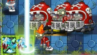 getlinkyoutube.com-Plants vs Zombies 2 - Missile Toe in Last Stand Far Future   Pinata Party 12/05/2016 (December 5th)