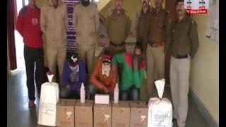 मसूरी: पुलिस ने पकड़ी 7 पेटी अवैध शराब