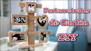 getlinkyoutube.com-Portarretratos de carton DIY | Manualidades, reciclaje y decoración