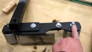 """getlinkyoutube.com-2"""" by 72"""" Homemade Belt Grinder Construction Part 2"""