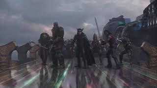 Thor Awakens His Power - Thor Ragnarok width=