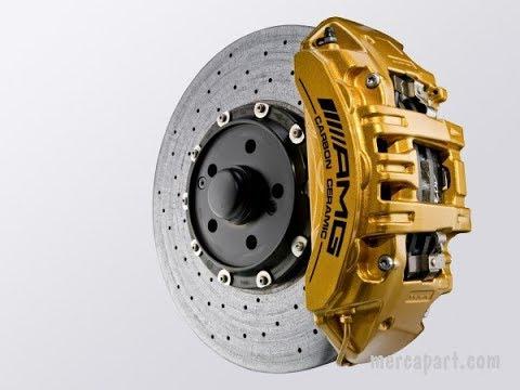 Замена тормозных колодок и дисков ML164 Mercedes