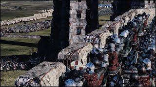 getlinkyoutube.com-EPIC CINEMATIC SIEGE OF CALAIS - Medieval Kingdoms: Total War Mod Gameplay