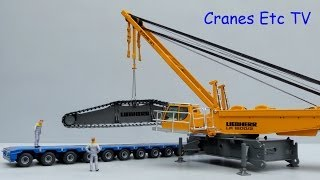getlinkyoutube.com-NZG Liebherr LR 1600/2 Crawler Crane by Cranes Etc TV