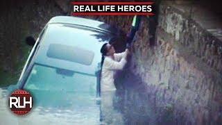 getlinkyoutube.com-Real Life Heroes | Faith In Humanity Restored | Part 19 | REAL LIFE HEROES 2017