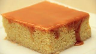 getlinkyoutube.com-Trileçe Tatlısı Tarifi - Karamelli Sütlü Islak Kek Tarifi