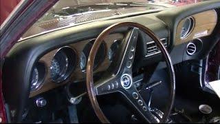 getlinkyoutube.com-Dash Pad & Door Panels 1969 Ford Mustang Restoration Part 68 Dashes Direct, Laurel Mountain Mustang