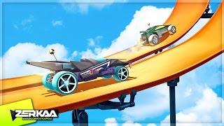 getlinkyoutube.com-NEW FAVOURITE MOBILE GAME!? (Hot Wheels: Race Off)