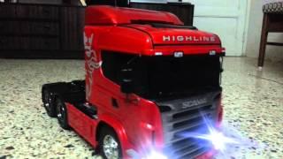 getlinkyoutube.com-Tamiya Scania R620 by Hemal Patel