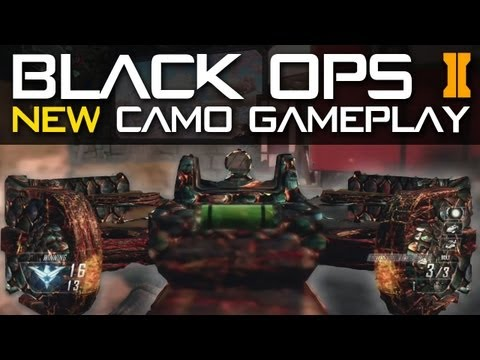 Black Ops 2 NEW CAMO Gameplay Trailer - CYBORG, DRAGON, PALADIN & COMIC BOOK Camos