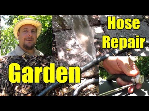 Garden Hoses   Easily Repair Bursts & The Best Hose To Buy!
