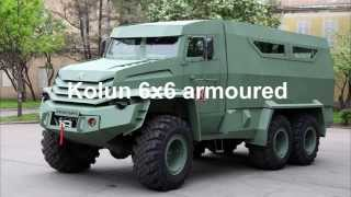 getlinkyoutube.com-Kolun 6x6 armoured vehicle personnel carrier UAMZ Group Russia Russian Defense industry military equ