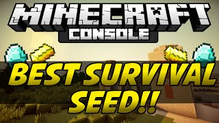 Minecraft PS3 & Xbox - BEST STARTER SEED! - (PSVita/PS4)
