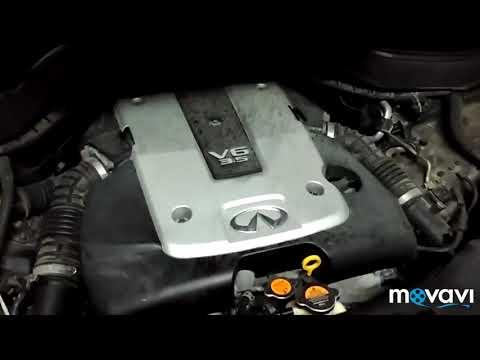 Замена масла Инфинити FX35, какой фильтр выбрать Nissan или MANN